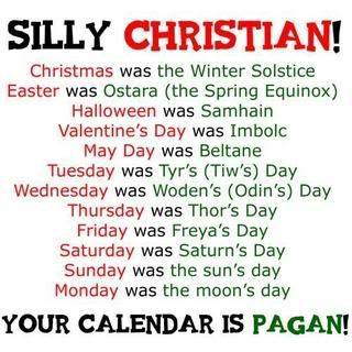 Pagan Calendar.Pagan Calendar Days